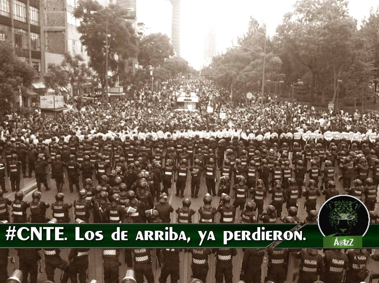 La #MarchaCNTE. ¡Apoyo a nuestros profes!