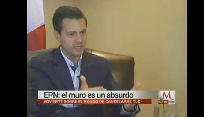 Ni con el pseudo-periodista Marín, pudo EPN. ¡Menudo ridículo!