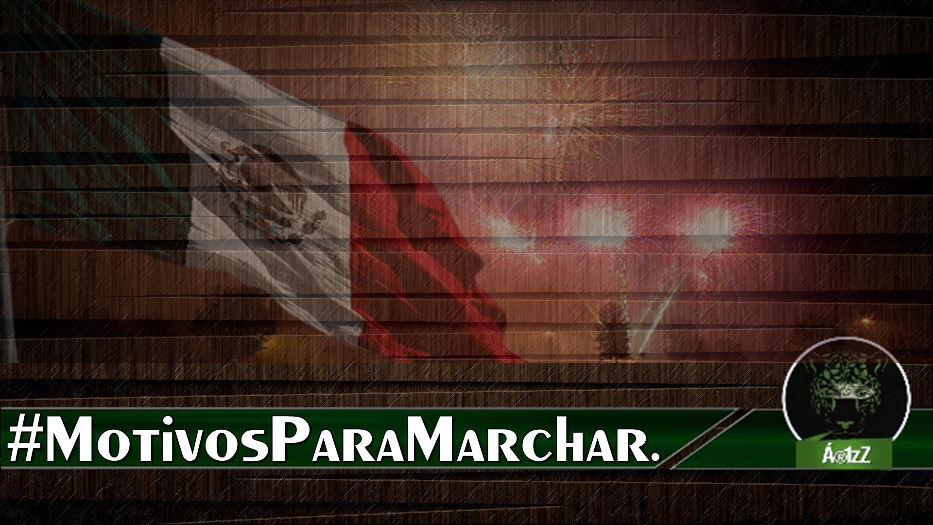 #MotivosParaMarchar. No hay nada que festejar. #RenunciaYa. Premian a Tomás Zerón.