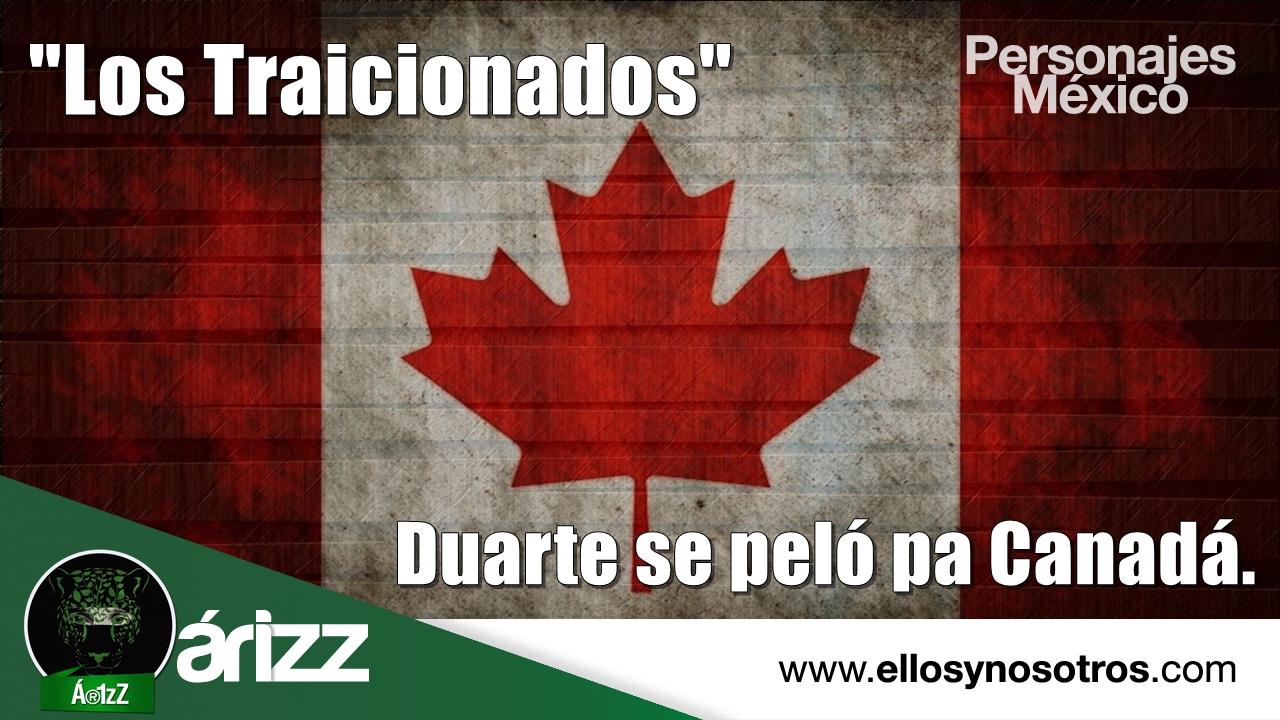 La 'fuga' anunciada de Javier Duarte. Dicen que está en Canadá.
