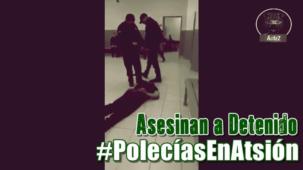 Policía en Cd. Juárez asesina a detenido, después dicen a la familia que amaneció muerto