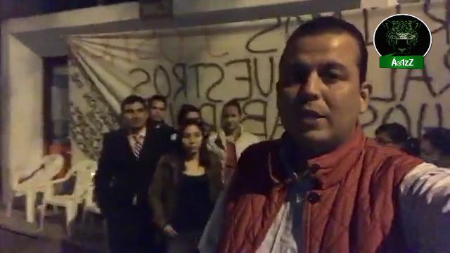¡Ironía! En Morelia, trabajadores de conciliación, luchan por defender sus trabajos