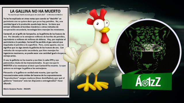 #Pemex. La gallina de los huevos de oro, no ha muerto