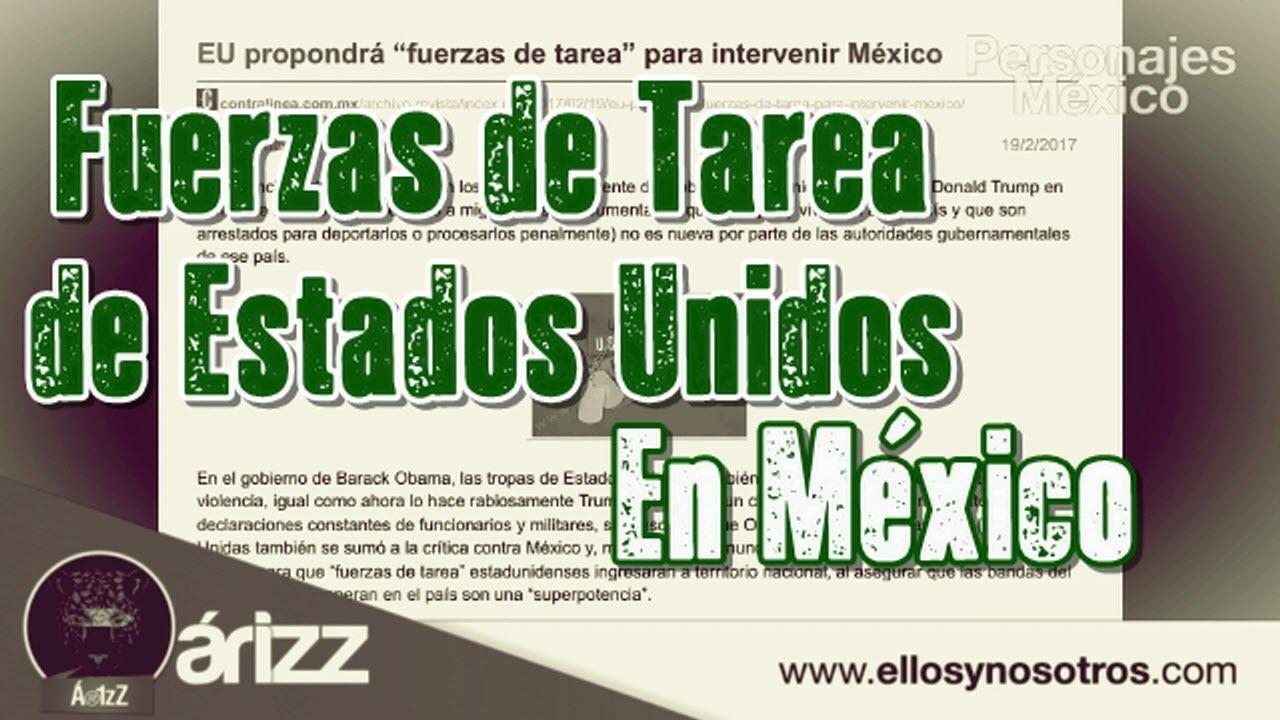 "EU propondrá ""fuerzas de tarea"" para intervenir México"
