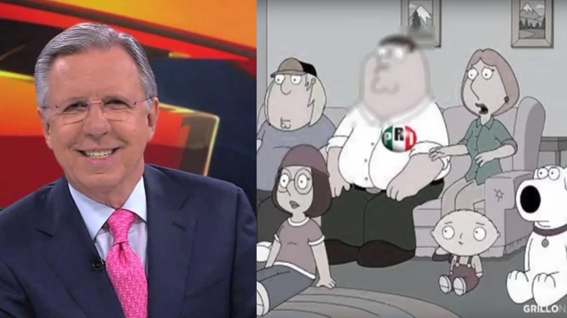Las redes sociales se mofan de López-Dóriga y su
