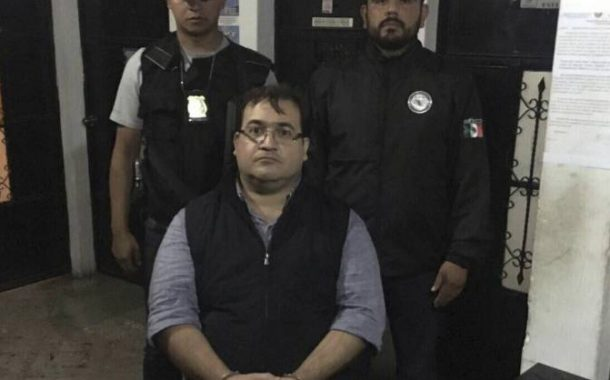 Javier Duarte detenido
