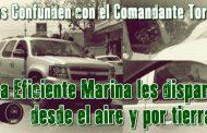 Víctima del tiroteo en Reynosa confirma: fue la Marina, yo vi el helicóptero que nos disparó. (Video)