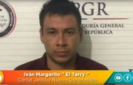 El Terry, líder operativo del Cártel Jalisco Nueva Generación, detenido en Colima