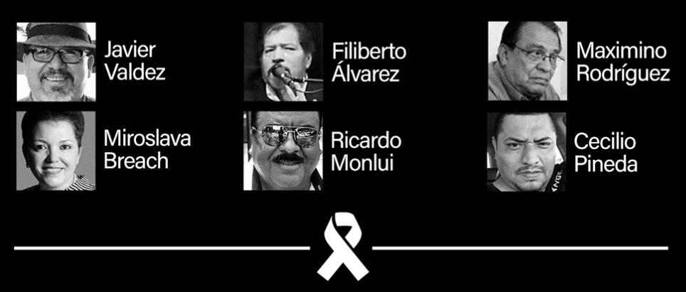 #UnDíaSinPeriodismo. Animal Político deja de trabajar en apoyo a las familias de periodistas asesinados