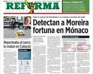 Moreira tiene su fortuna en Mónaco