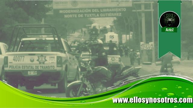 Videos e imágenes de la detención de estudiantes normalistas en Tuxtla Gutiérrez, Chiapas