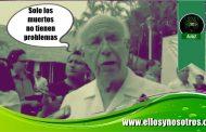 José Narro va a Chiapas y sin dar la cara a las enfermeras en huelga de hambre, huye de un evento