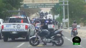 Normalistas detenidos en Chiapas