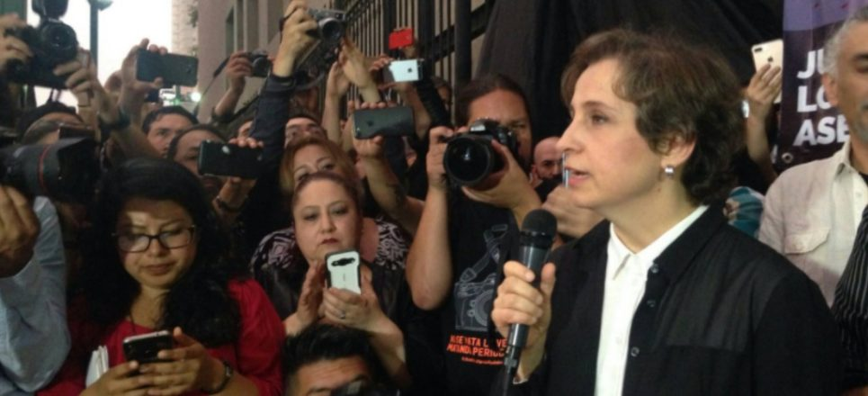 Carmen Aristegui: ¿Quiénes son los delincuentes y quiénes son el gobierno?