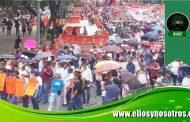 Movilización de docentes en el Día del Maestro contra a la reforma educativa