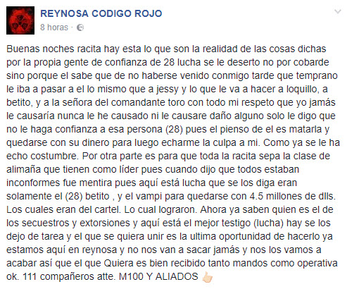 Reynosa Código Rojo