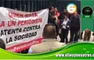 Periodistas de Michoacán y esposa de Adame Pardo reclaman investigación y que aparezca con vida el comunicador
