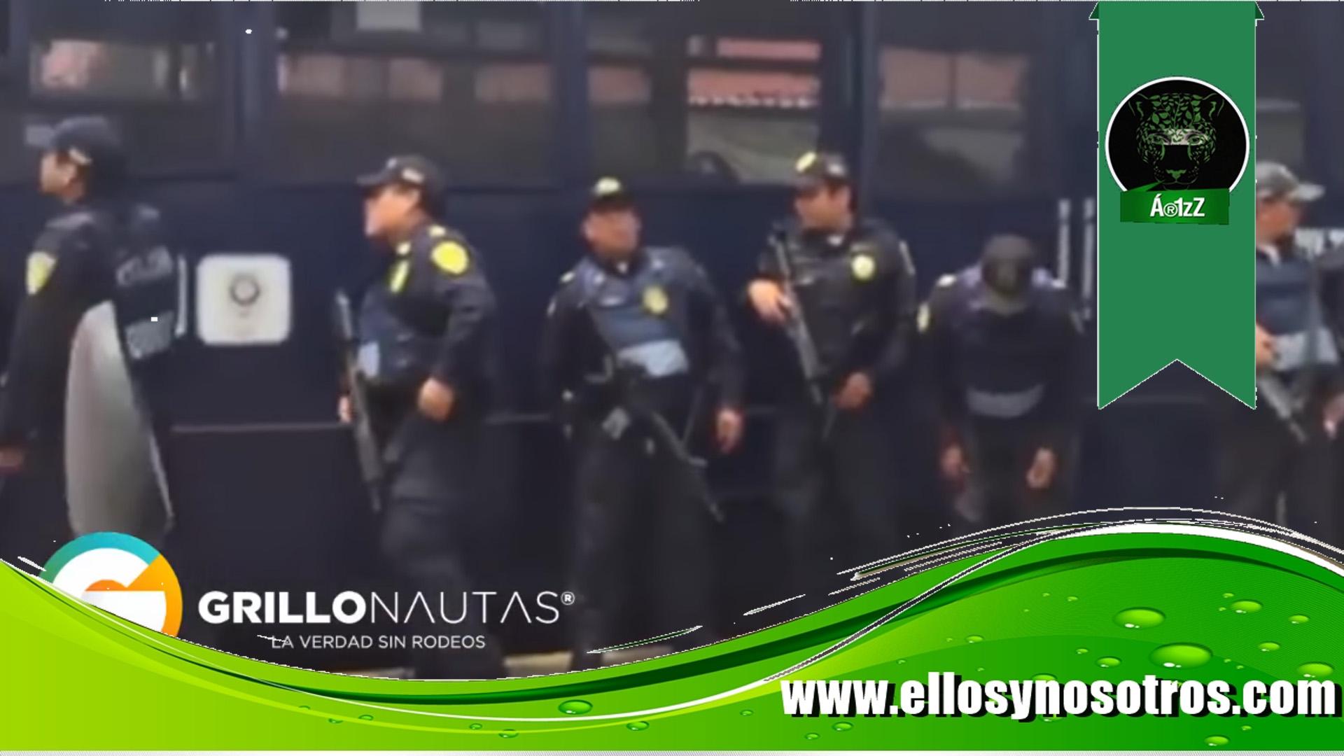 7 detenidos en el funeral de El Ojos