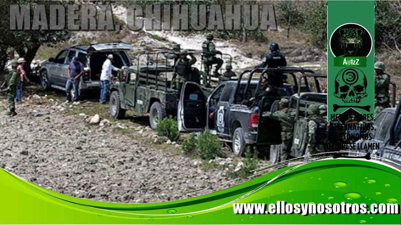 Dos matanzas en Madera, Chihuahua, en una semana