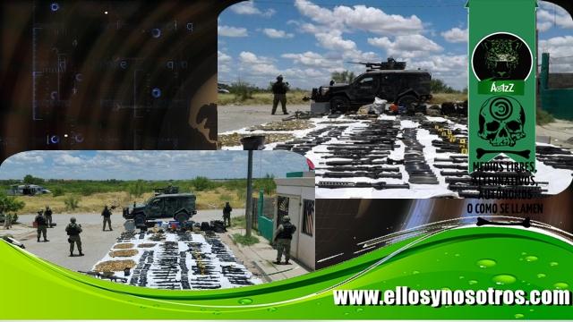 Decomisan un arsenal a los Zetas en Nuevo Laredo
