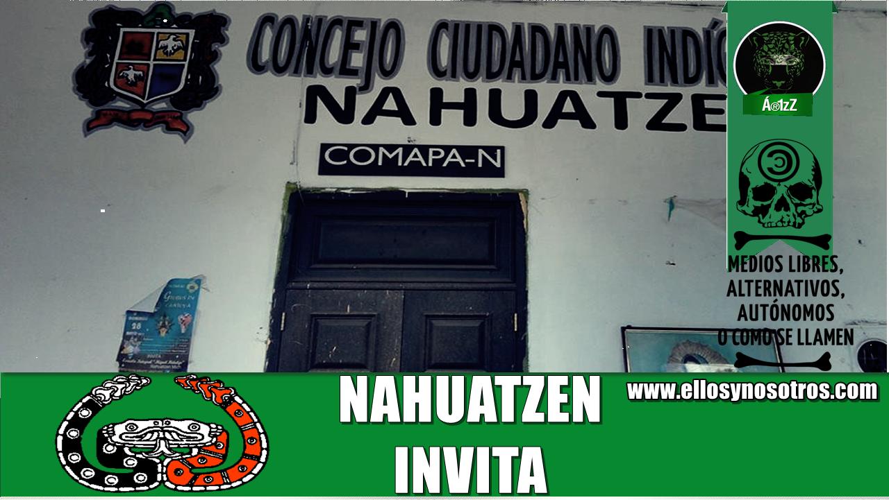 Nahuatzen invita al 1er Encuentro por la Autonomía de los Pueblos