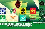 ¿Quién le hace el juego a la derecha? ¿San Peje o el EZLN?