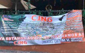 El CJNG en Querétaro anuncia su presencia