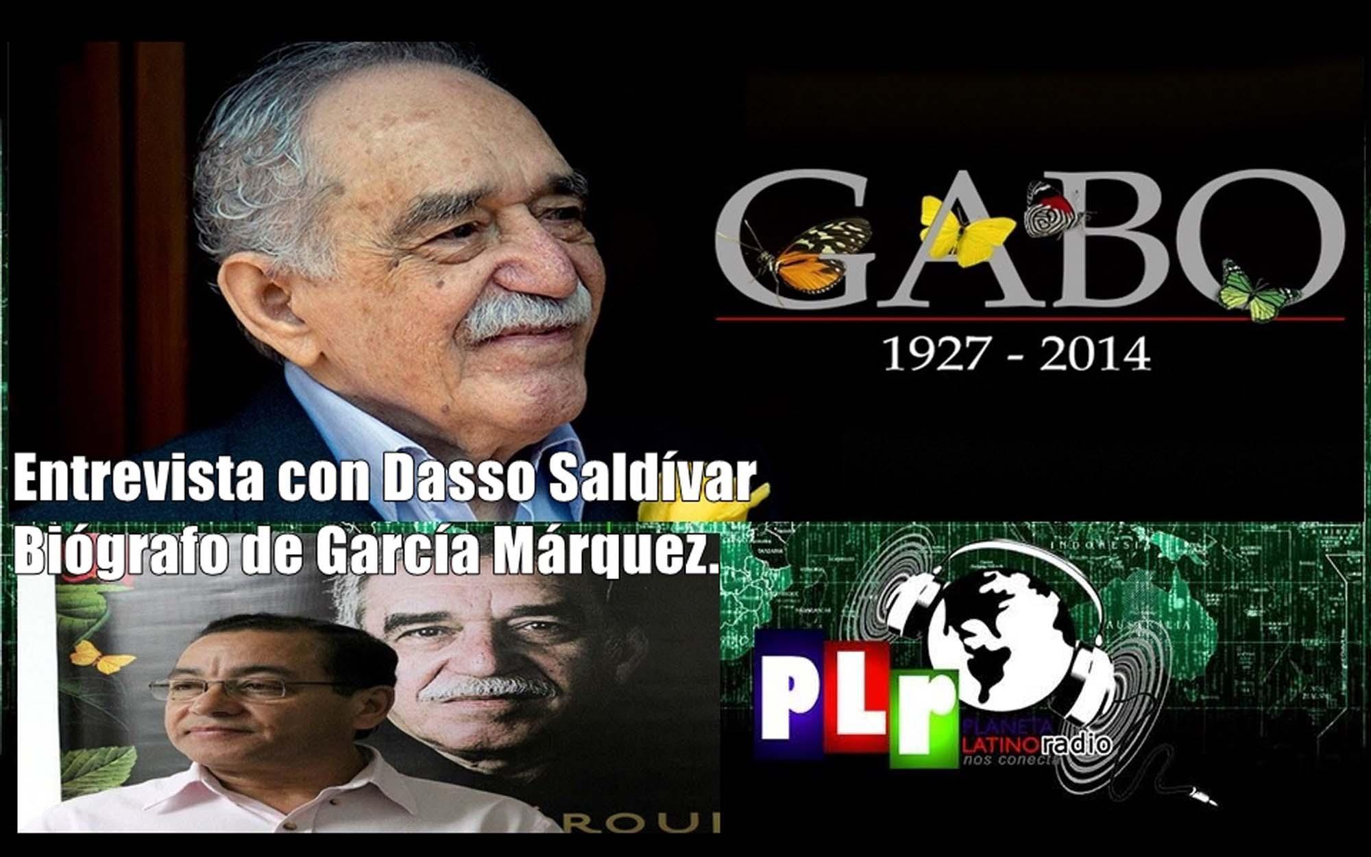 García Márquez, 90 años de su nacimiento. Entrevista con su biógrafo Dasso Saldívar