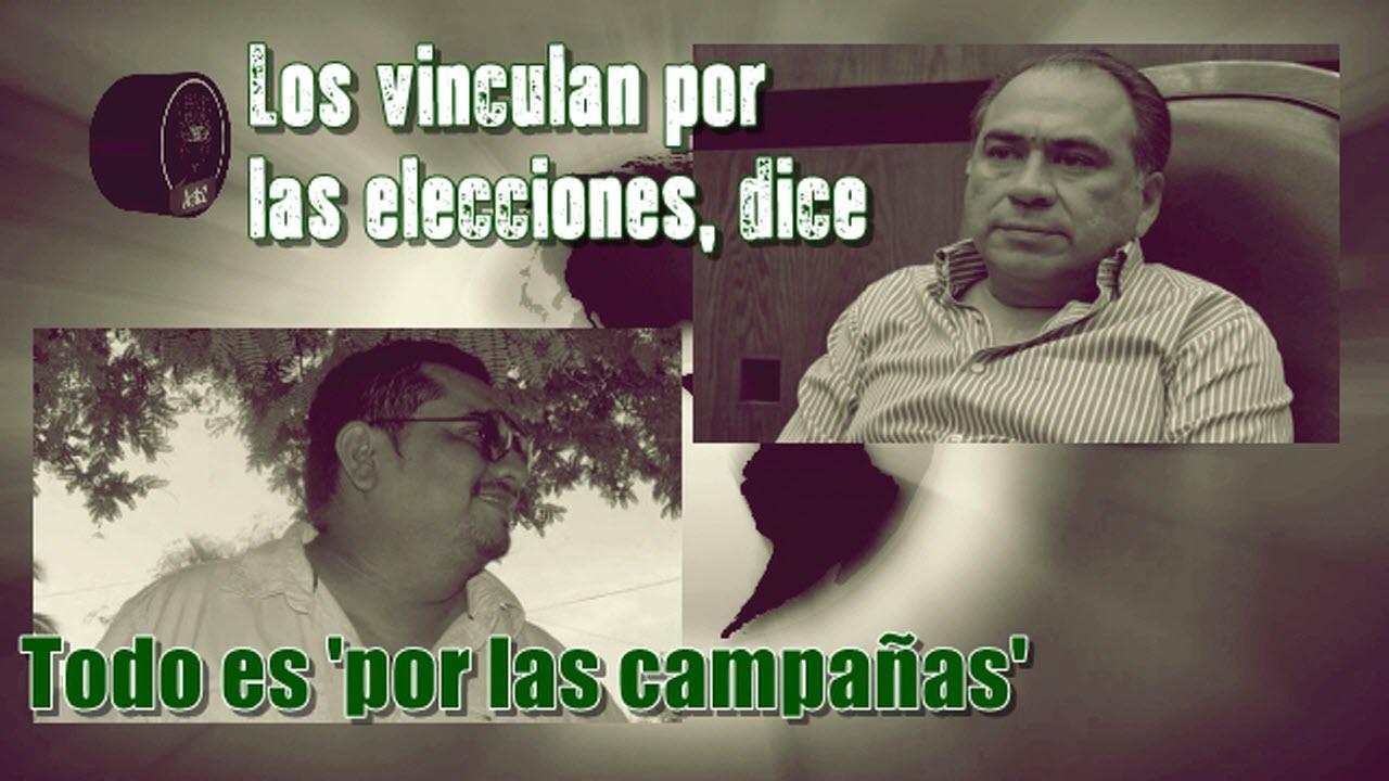 Dice Astudillo que lo vinculan a la delincuencia organizada porque hay campañas electorales