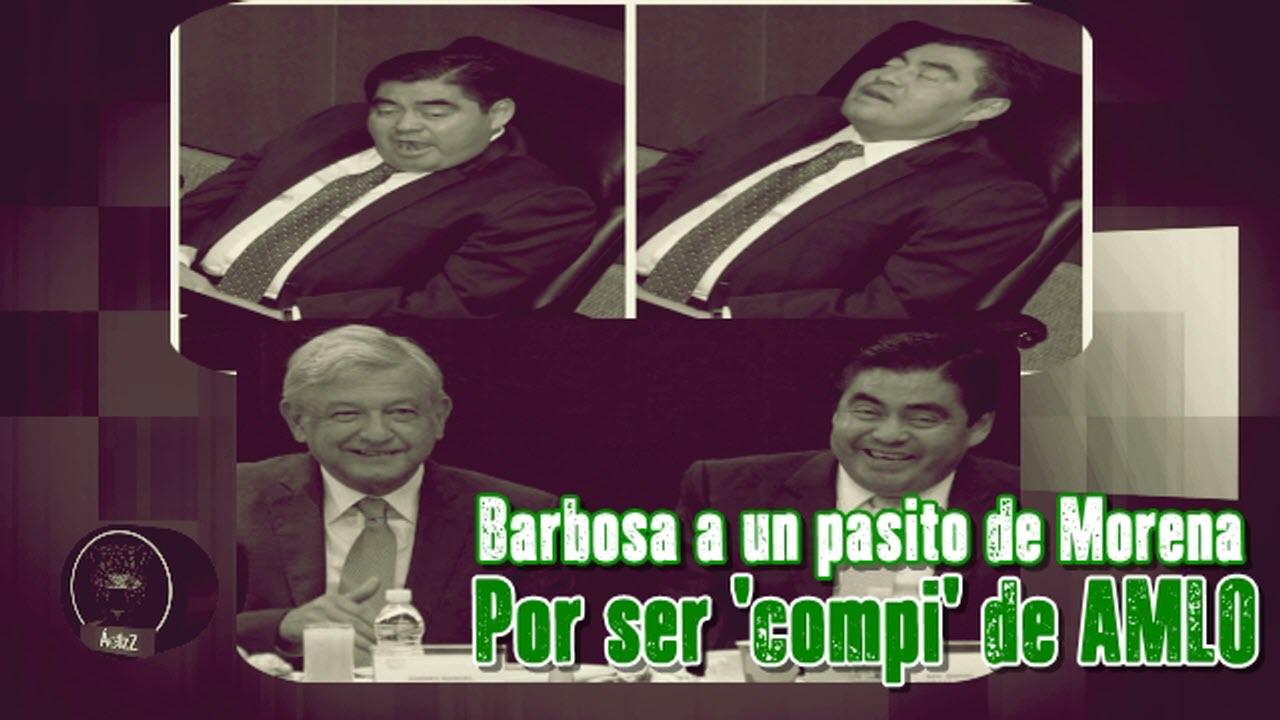 PRD remueve a Barbosa de la coordinación en el Senado, por ser compi de AMLO