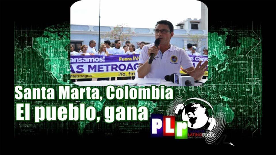 Contra la corrupción, por el agua y por el pueblo. Entrevista con Carlos E. Caicedo