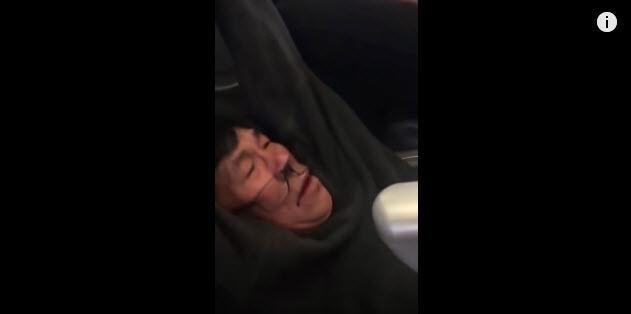 Estados Unidos investiga a United Airlines por bajar a un pasajero a la fuerza