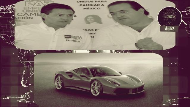 ¿Le regaló un Ferrari el delincuente Duarte al Jefe del Cártel del Gobierno, Peña Nieto?