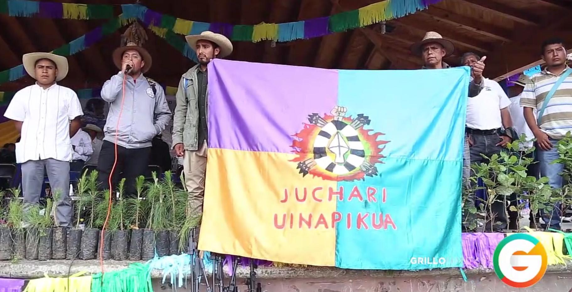 Arantepacua dice NO a los partidos políticos