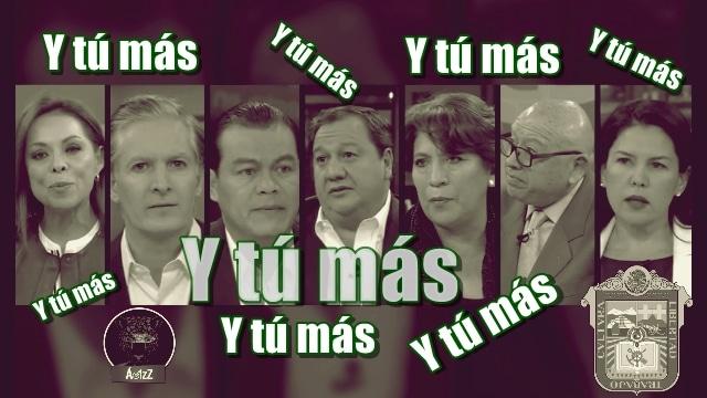 El primer debate entre los candidatos para el Estado de México: bla, bla, bla y bla