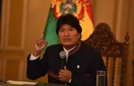 Evo Morales advierte que EE.UU. podrían desatar la Tercera Guerra Mundial