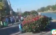 Plomo y banda en el funeral de Pancho