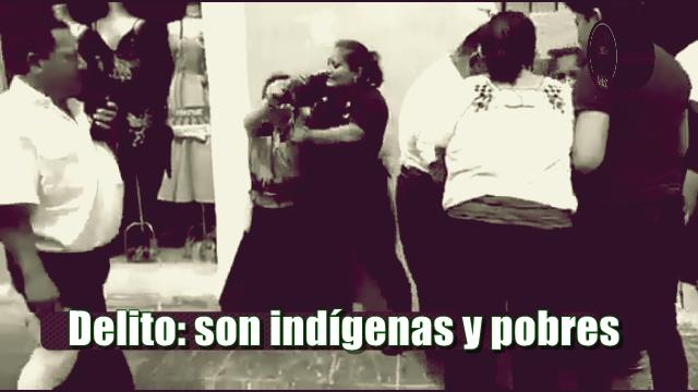 Una prueba más del desprecio que hay contra los indígenas y más si son mujeres. Ocurrió en Campeche.