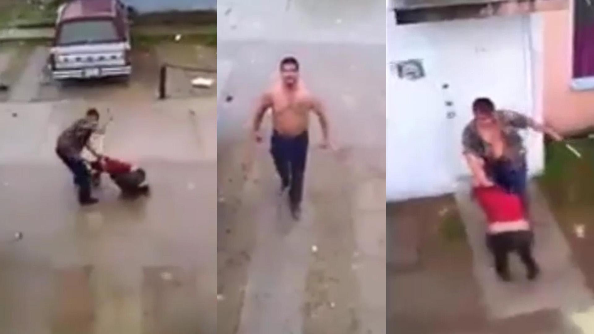 Militar golpea a una mujer. Piden colaboración ciudadana (video)