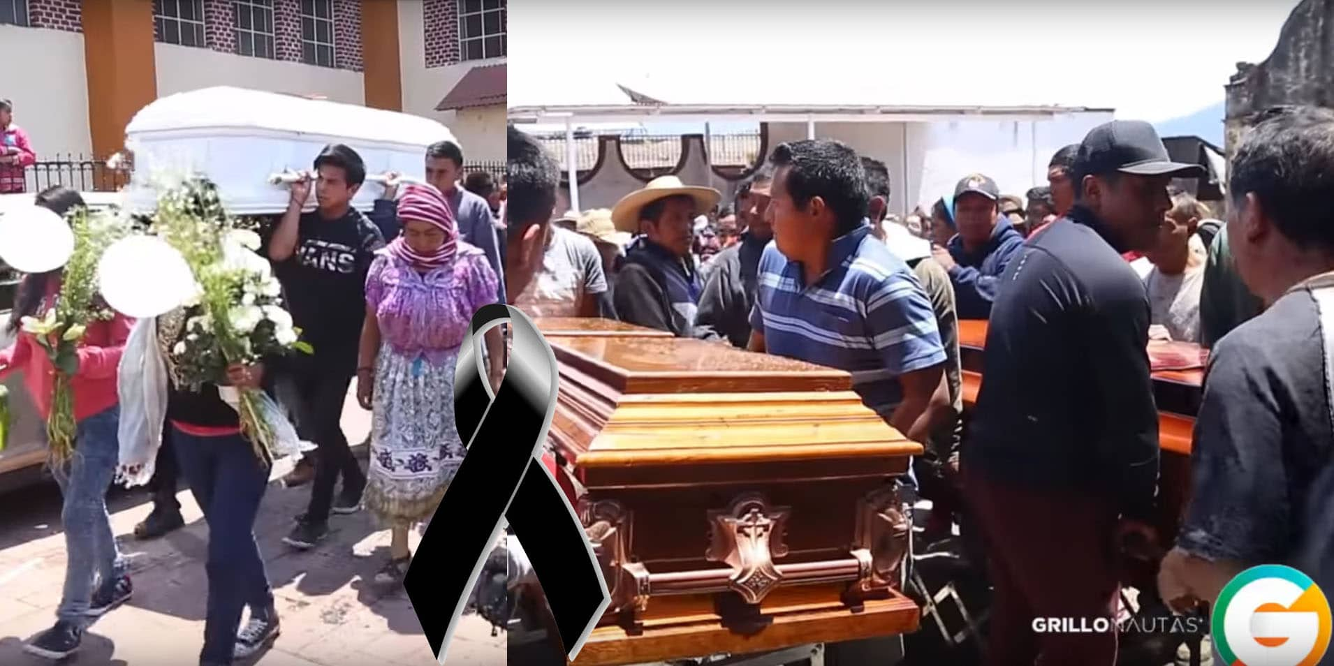 Arantepacua sepulta a tres comuneros fallecidos. Repudian a Silvano Aureoles
