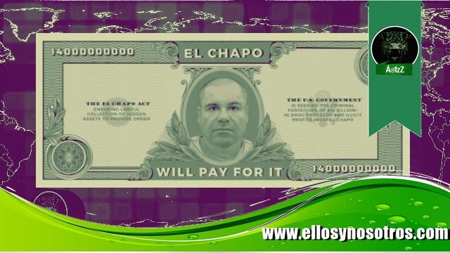 Piden que Joaquín Guzmán 'El Chapo' pague el muro de Trump