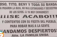 Lanzan narcovolantes desde helicóptero en Texcoco, Edomex