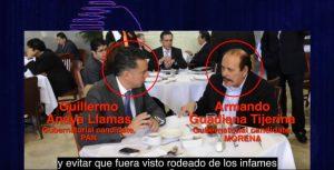 Guillermo Anaya lava dinero de Los Zetas