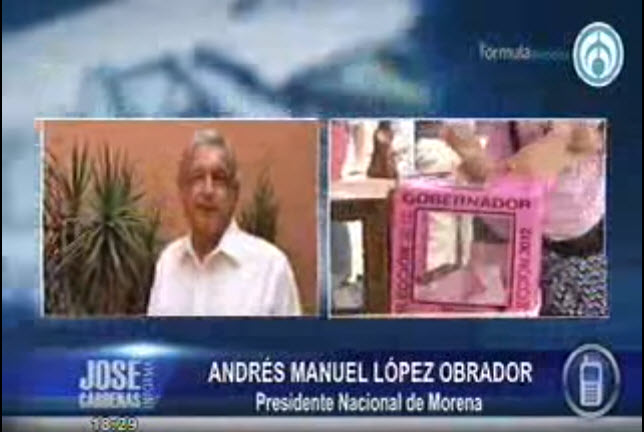 A AMLO no le gustan las entrevistas que no sean a modo, como la de Aristegui. Así trató a José Cárdenas.