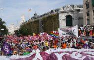 Marchas de la Dignidad recorren Madrid con el lema