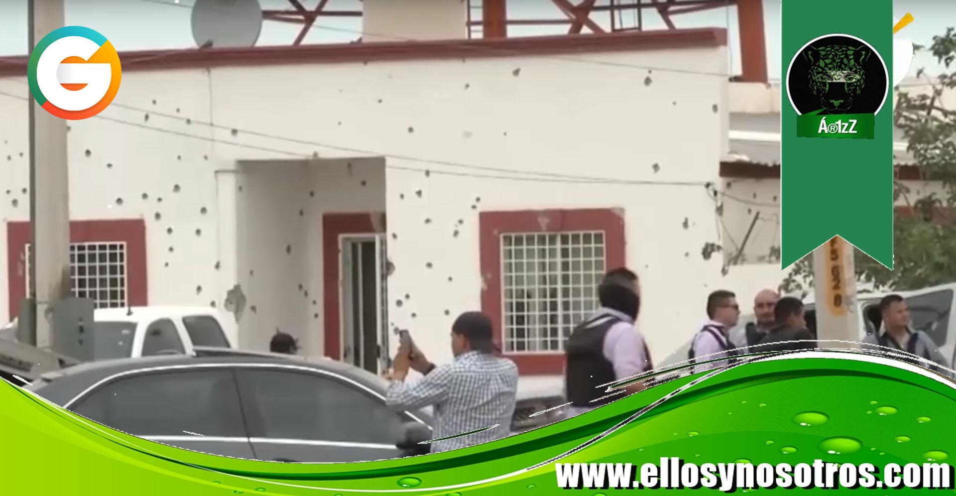 Detenidos director y subdirector y 5 policías por complicidad con sicarios en el ataque a la FGE de Villa Ahumada