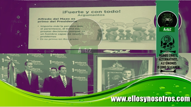 Tratan de desligar a Alfredo del Mazo de su PRImo, EPN