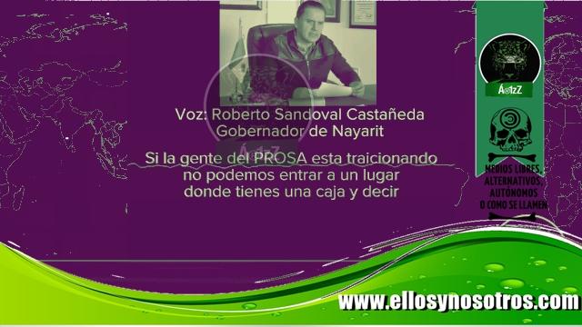 Roberto Sandoval opera el fraude en Nayarit. #Audio donde pide recoger credenciales.