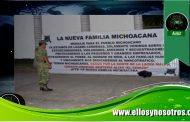 La Nueva Familia Michoacana cuelga 'narcomantas' en Lázaro Cárdenas. Van por 'El Cenizo', dicen