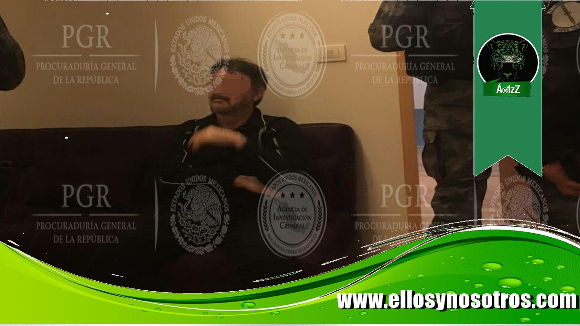 Primeras imágenes de Dámaso López Núñez detenido (video)